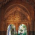 Mirador De Lindaraja La Alhambra by Guido Montanes Castillo