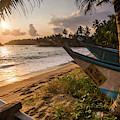 Mirissa Beach, Traditional Oruva by Matthew Williams-ellis