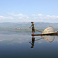 Mirror Inle Lake by Jessica Rose