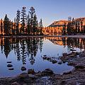 Mirror Lake Dawn by Gina Herbert