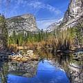 Mirror Lake Yosemite Autumn by Eric Mui
