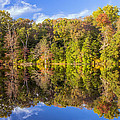 Mirror Reflections Of Fall by Brian Wallace
