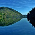 Mirrored In The Lake by Hominy Valley Photography