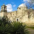Mision San Jose by Ricardo J Ruiz de Porras