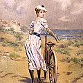 Miss Bicycle 1894 by Bill Cannon
