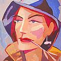 Miss Fisherman by Lutz Baar