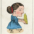 Miss Grits The Grocer's  Daughter by Mary Evans Picture Library