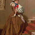Miss Lilys Return From The Ball, 1866 by James Hayllar