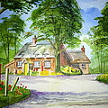 Miss Marples Cottage  St Mary-meade by Ian Scott-Taylor