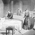 Miss Nightingale In The Hospital by Robert Neal Hind