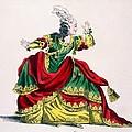 Miss Sainval As Zenobie In Zenobie by French School