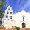Mission Basilica San Diego De Alcala Usa by Liz Leyden