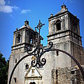 Mission Concepcion - Church II by Beth Vincent