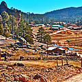 Mission Cusarare Tarahumara Village In Chihuahua-mexico  by Ruth Hager