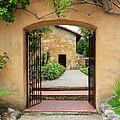 Mission Door With Scripture by Carol Groenen