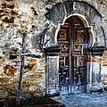 Mission Espada Entrance by Stephen Stookey