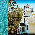 Mission Point Light House Michigan by LeeAnn McLaneGoetz McLaneGoetzStudioLLCcom