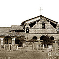 Mission San Antonio De Padua California Circa 1885 by California Views Archives Mr Pat Hathaway Archives