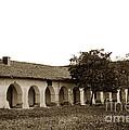 Mission San Juan Bautista San Benito County Circa 1905 by California Views Mr Pat Hathaway Archives