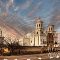 Mission San Xavier Del Bac by Vivian Christopher