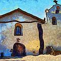 Mission Santa Ines by Barbara Snyder