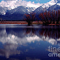 Mission Valley Montana by Thomas R Fletcher