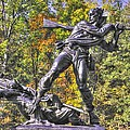 Mississippi At Gettysburg - Defending The Fallen Colors No. 1 by Michael Mazaika