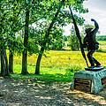Mississippi Memorial Gettysburg Battleground by Bob and Nadine Johnston