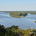 Mississippi River Overlook by Luther Fine Art
