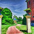 Missouri Botanical Garden Pathway by Luther Fine Art