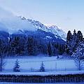Mist Over Alps by Misuk Jenkins