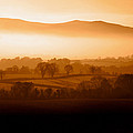 Mist Shrouded Knockmealdown Mountains by Panoramic Images