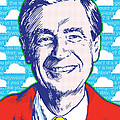 Mister Rogers Pop Art by Jim Zahniser