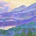 Misty Blue Ridge by Kendall Kessler