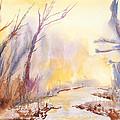 Misty Creek by Walt Brodis