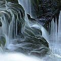 Misty Falls - 70 by Paul W Faust -  Impressions of Light