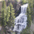 Misty Falls by Jo-Anne Gazo-McKim