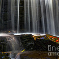 Misty Falls by Paul W Faust -  Impressions of Light