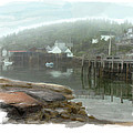 Misty Harbor by Elaine Plesser