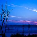 Misty Lake by Delmas Lehman