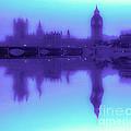 Misty London Reflection by Algirdas Lukas