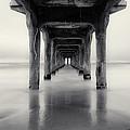 Misty Manhattan Pier by Adam Pender