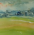 Misty Morning, 1981 Wc On Paper by Brenda Brin Booker