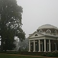 Misty Morning At Monticello by Christiane Schulze Art And Photography