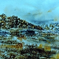 Misty Morning Pond by Kendall Kessler