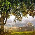 Misty Mountain Barn by Debra and Dave Vanderlaan