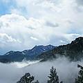 Misty Mountain Colorado by Ric Bascobert