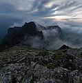 Misty Peaks And A Whiff Of Danger by Branislav Brankov