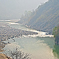 Misty Seti River Rapids In Nepal  by Ruth Hager