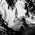 Misty View Of Monserrate Church by Jess Kraft